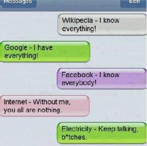 Social Media Conversations via Texts