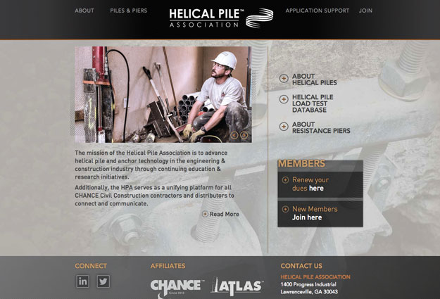 Helical Pile Association Website