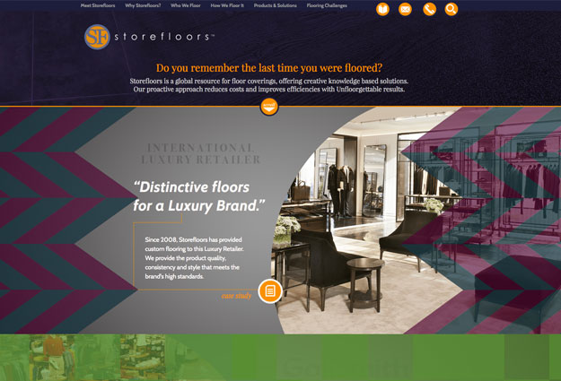Storefloors Website