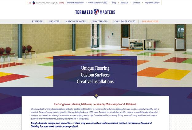 Terrazzo Masters Website