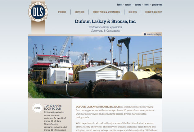 Dufour, Laskay & Strouse, Inc. Website