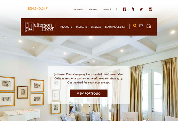 Jefferson Door Website