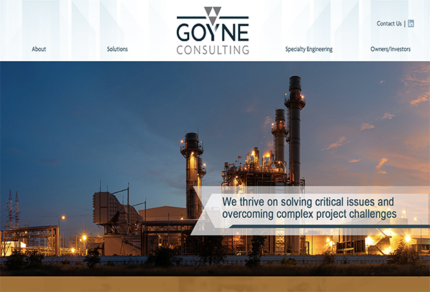 Goyne Consulting Website