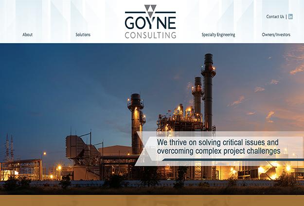 Goyne Consulting Website